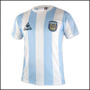 Camisa Argentina Retrô I 1986 Le Coq Sportif