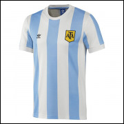 Camisa Argentina Retrô I 1978 Adidas