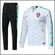 Agasalho Portugal Treino Passeio Completo IV Nike 71133e1469abe