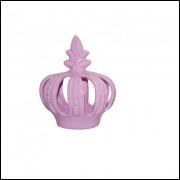 coroa media rosa candy
