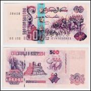 Algeria P-141 500 dinars 1998 UNC