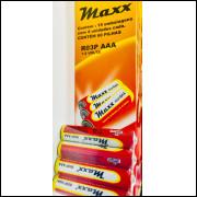 Pilha Palito Aaa Maxx 1,5 Volts Caixa Com 60unid