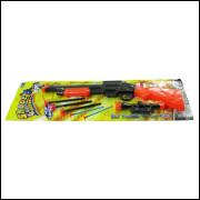 Lança Dardos 5 Peças Akt3297 Escopeta Plástico