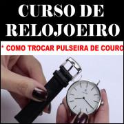 CURSO EM PEN DRIVE PARA TROCAR PULSEIRAS DE RELÓGIOS