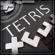 Tetris - Jogo de Montar - Prateado