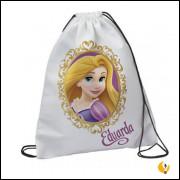 20  Mochila Saco Personalizada Rapunzel Enrolados