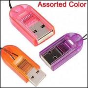 Adaptador Micro SD para USB - Leitor de Cartão Micro SD - Frete Grátis