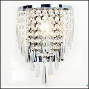 Lustre De Cristal De Parede Lâmpada Única K9 Importado