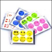 6 Adesivos Repelentes 1 Embalagem Com 6 Unidades - Frete Grátis