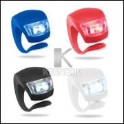 Lanterna Bicicleta Dianteira Ou Traseira, Luz Fixa Ou Pisca