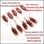 Falsa Barata De Plástico Kit Com 10 Unidades Frete Grátis