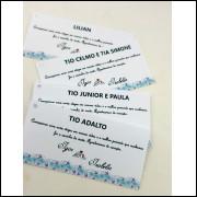 Tag Personalizada Casamento - 20 unidades