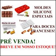 MOLDES DE SILICONE PARA DOCES FRANCESES