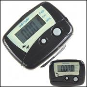 Pedômetro Lcd Digital Conta Distância, Calorias E Passos - Frete Grátis