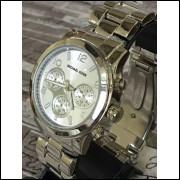 Relógio Feminino prateado Bonito, Barato, Elegante Promoção frete grátis