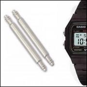 Pinos Para Pulseira de Relógio Casio F91