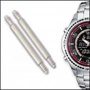 Pinos Para Pulseira de Relógio Casio Edifice EFA-121D