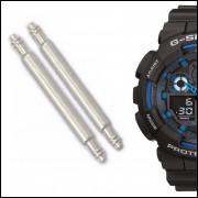 Pinos Para Pulseira de Relógio Casio G-SHock Ga-100