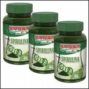 Spirulina - Semprebom - 180 Caps - 500 Mg