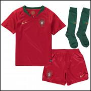Camisa Portugal Infantil I 18/19 - Nike