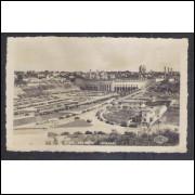 Foto postal Colombo, anos 50, Estádio Pacaembú , Futebol, SãoPaulo.