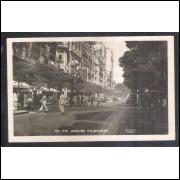 Foto Postal Colombo 103, Avenida Rio Branco, Rio de Janeiro, anos 50.