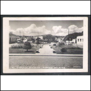 Foto Postal Flavio 26 Praça da Bandeira, Resende ano 1954.
