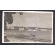 Foto Postal Colombo 162, Niterói, Panorama parcial, ano 1951.