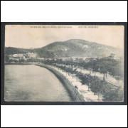 Postal anos 50 Avenida Beira Mar Botafogo Rio de Janeiro