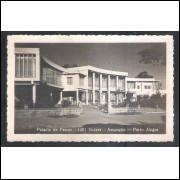 Foto Postal ano 1951 Palácio de Festas -1001 Noites - Assunção, Porto Alegre.