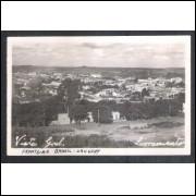 Foto Postal ano 1952 Livramento, vista geral, fronteira Brasil Uruguai.