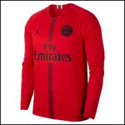 Camisa PSG Air Jordan Goleiro I Champions League 18/19 - Jordan