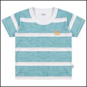 Camiseta Infantil Elian Listras