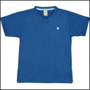 Camiseta Infantil Básica Colorittá Marinho