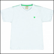 Camiseta Infantil Básica Colorittá Branca