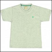 Camiseta Infantil Básica Colorittá Mescla