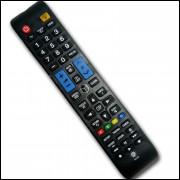 Controle Remoto Para Tv Samsung Led Smart Aa59-00588a C01276