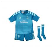 Camisa Real Madri Goleiro Infantil II 18/19 Adidas