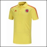 Camisa Pólo Colômbia I 18/19 Adidas