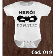 Body Infantil Herói do Futuro
