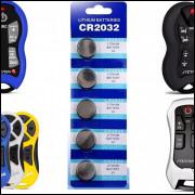 Cartela de Pilha Cr2032 Para Controle de som Longa distância