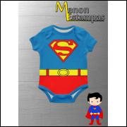 Body Infantil Seperman Super homem