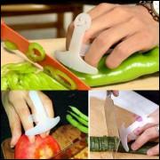 Proteção Para Cortar Alimentos Faca Saladeiro Salada Verdura