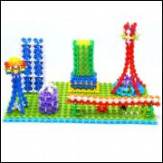 Brinquedo De Montar Criança 400 Pcs Blocos De Construção Nev