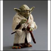 Boneco Star War Mestre Jedai Yoda Pvc Ação Brinquedos 12