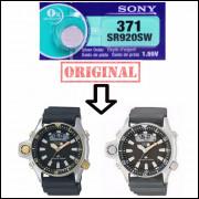 Pilha SR920SW 371 Para Relógio Citizen Aqualand