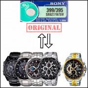 Pilha SR927SW 395 Para Relógio Cassio Edifice EF558
