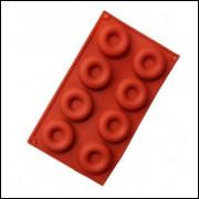 Molde Silicone P Savarim Ou Danuts 08 Cavids 29.3x17.3x2cm