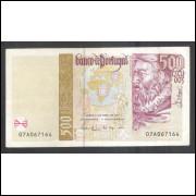 Portugal (P.187a) - 500 Escudos, 1997, mbc/s.