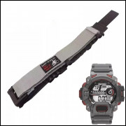 Pulseira em Nylon Para Relógio Mormaii MO1132AE Cinza 20mm